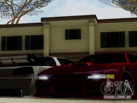 Infernus DoTeX para GTA San Andreas vista interior