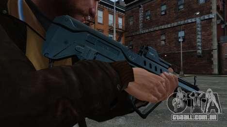 Fuzil TAR-21 para GTA 4 terceira tela