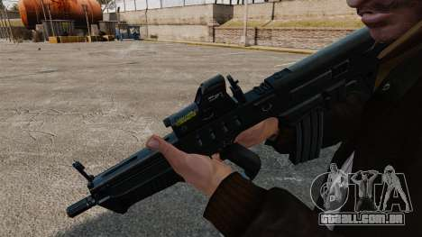 Fuzil TAR-21 para GTA 4 segundo screenshot