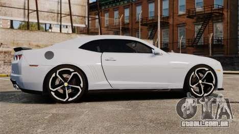 Chevrolet Camaro ZL1 2012 para GTA 4 esquerda vista