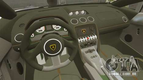 Lamborghini Gallardo LP570-4 Superleggera 2011 para GTA 4 vista lateral