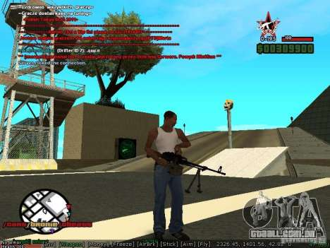 Sobeit 4.2.2.1 (2011) [RUS] para GTA San Andreas terceira tela