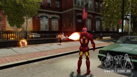 Ferro homem IV v 2.0 para GTA 4 sétima tela