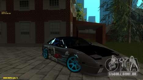Nissan Silvia RPS13 CIAY para GTA San Andreas