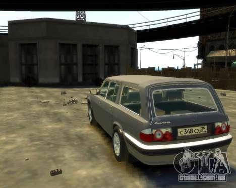 GÁS 330221 para GTA 4 traseira esquerda vista