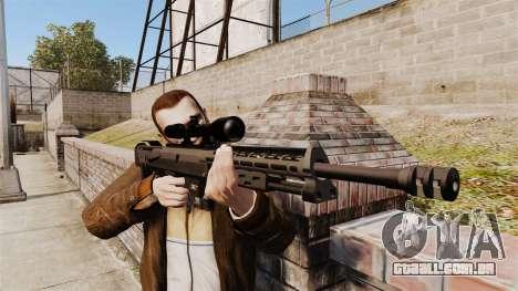 O DSR-1 sniper rifle para GTA 4 terceira tela