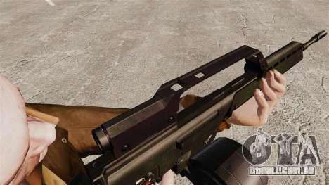 Fuzil de assalto de H & K MG36 v1 para GTA 4 por diante tela