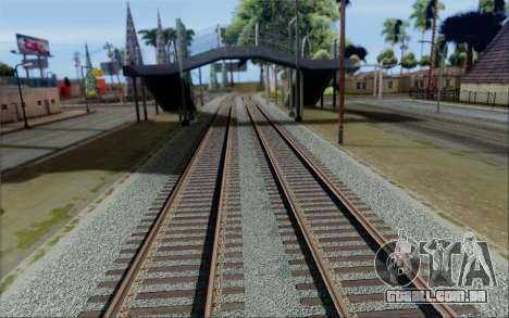 RoSA Project v1.2 Los-Santos para GTA San Andreas por diante tela
