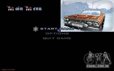 Snow San Andreas 2011 HQ - SA:MP 1.1 para GTA San Andreas twelth tela