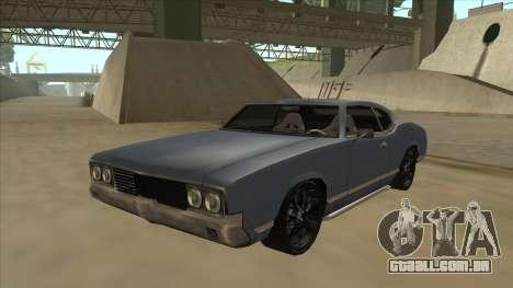 Tuned Sabre para GTA San Andreas