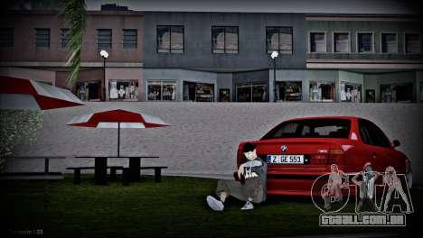 BMW 5-er E34 para GTA San Andreas vista interior