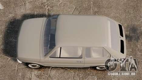 Fiat 126 v1.1 para GTA 4 vista direita