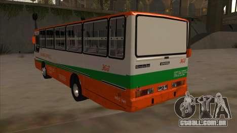 Tacurong Express 368 para GTA San Andreas vista traseira