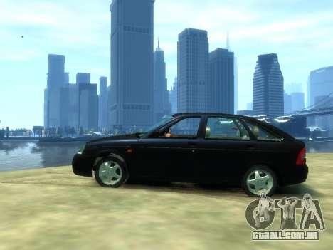 Lada Priora para GTA 4 esquerda vista