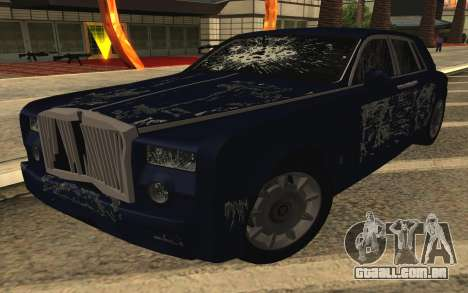 Rolls-Royce Phantom para GTA San Andreas interior
