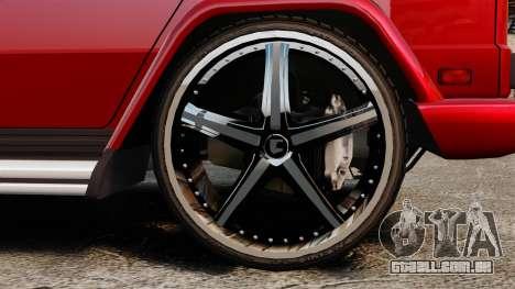 Mercedes-Benz G500 para GTA 4 vista direita