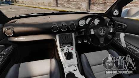 Nissan Silvia S15 v4 para GTA 4 vista de volta