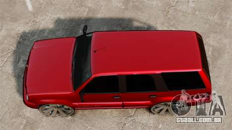Cavalgada de drives de 26 polegadas para GTA 4 vista direita