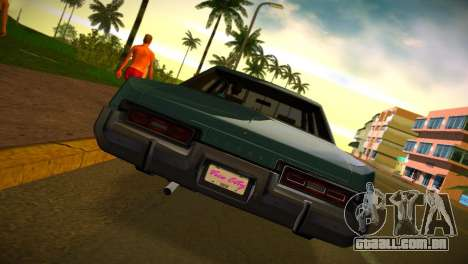 ENBSeries by FORD LTD LX v2.0 para GTA Vice City por diante tela