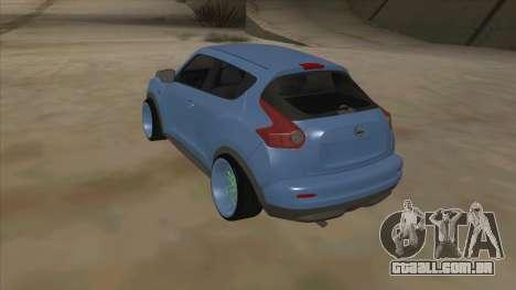 Nissan Juke Lowrider para GTA San Andreas