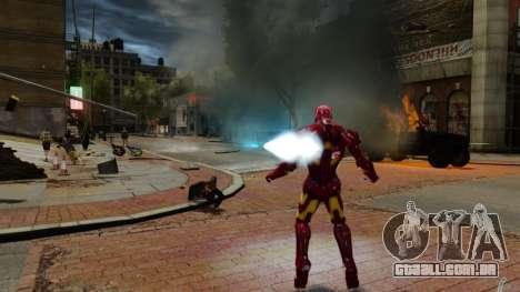 Ferro homem IV v 2.0 para GTA 4 oitavo tela