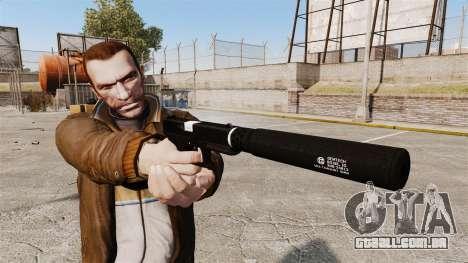 Autocarregáveis v1 de pistola Glock 17 para GTA 4 terceira tela
