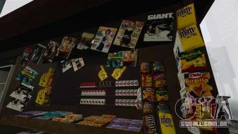 O atualizado quiosques e carrinhos de dogovye qu para GTA 4 terceira tela