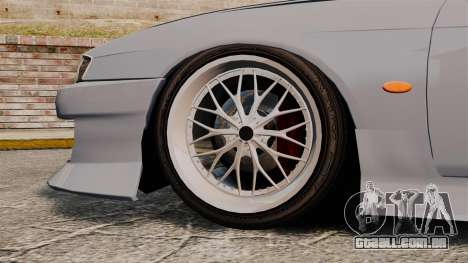 Nissan Silvia S14 para GTA 4 vista de volta