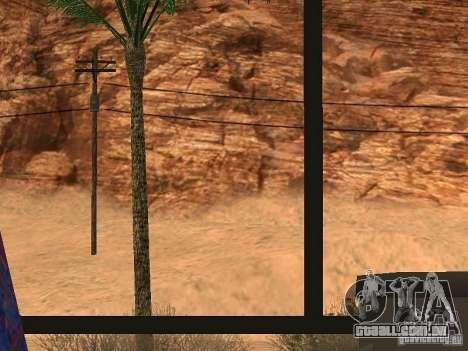 Dirigindo um 3.0 para GTA San Andreas por diante tela