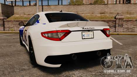 Maserati MC Stradale Infinite Stratos para GTA 4 traseira esquerda vista