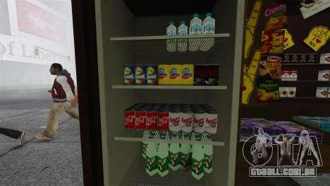 O atualizado quiosques e carrinhos de dogovye qu para GTA 4 segundo screenshot