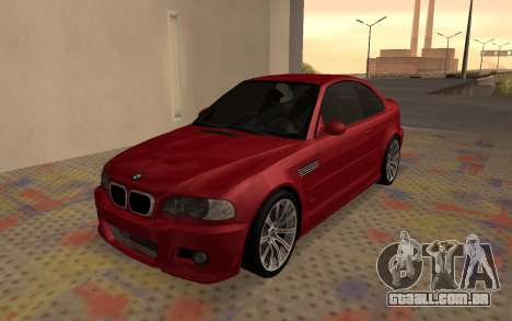 BMW M3 E46 2005 Body Damage para GTA San Andreas