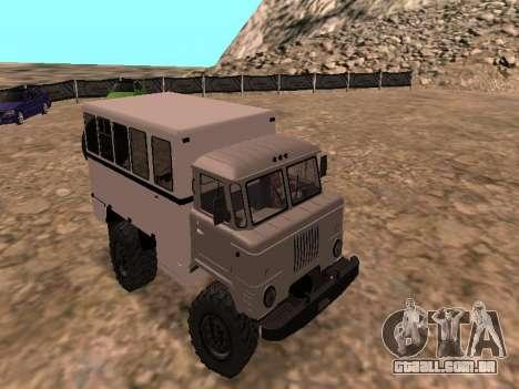 GAZ 66 assistir para GTA San Andreas
