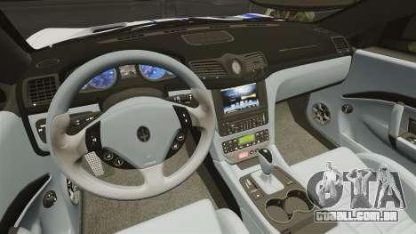 Maserati MC Stradale Infinite Stratos para GTA 4