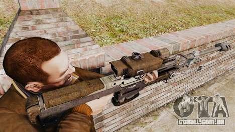 Halo Reach espingarda SRS 99 para GTA 4 segundo screenshot