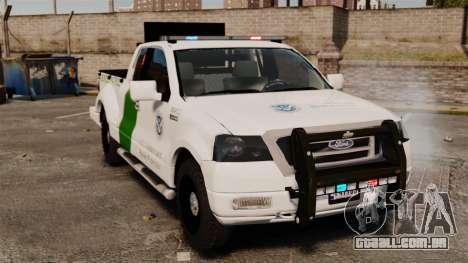 Ford F-150 v3.3 Border Patrol [ELS & EPM] v1 para GTA 4