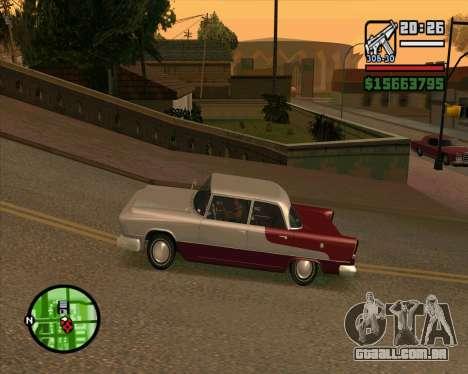 Oceanic HD para GTA San Andreas esquerda vista
