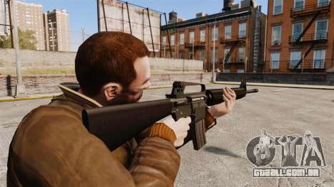 M16 A2 para GTA 4 segundo screenshot