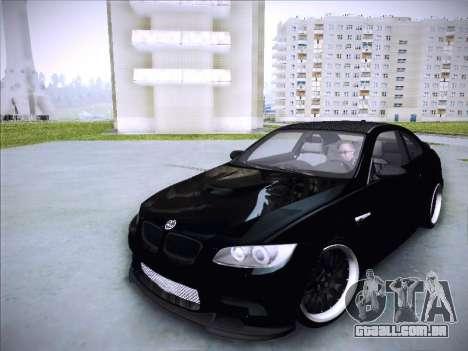 BMW M3 E92 Hamann 2012 para GTA San Andreas vista traseira
