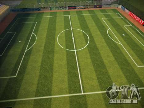 Campo de futebol para GTA San Andreas terceira tela