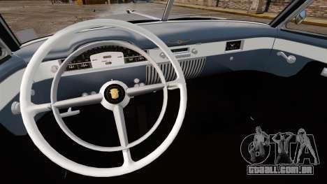 Cadillac Series 62 convertible 1949 [EPM] v4 para GTA 4 vista de volta