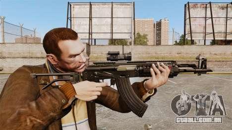Kalashnikov AK-47 Sopmod para GTA 4