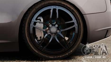 Audi S5 EmreAKIN Edition para GTA 4 vista de volta