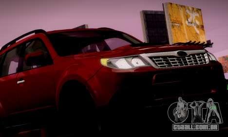 Subaru Forester XT 2008 v2.0 para o motor de GTA San Andreas