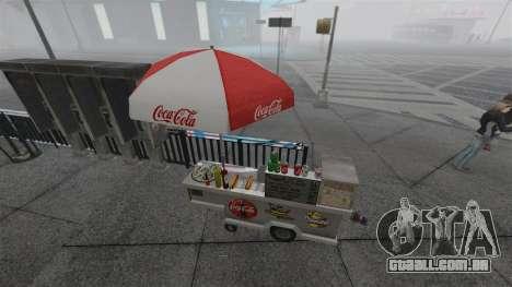 O atualizado quiosques e carrinhos de dogovye qu para GTA 4 sétima tela