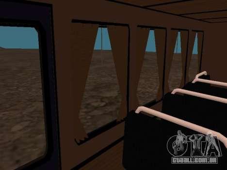 GAZ 66 assistir para GTA San Andreas interior