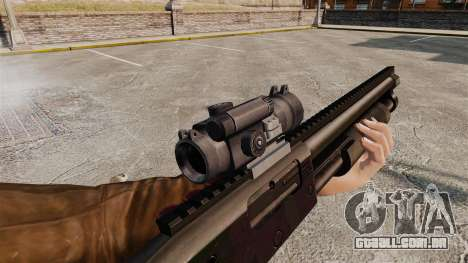 Espingarda tático v1 para GTA 4 quinto tela