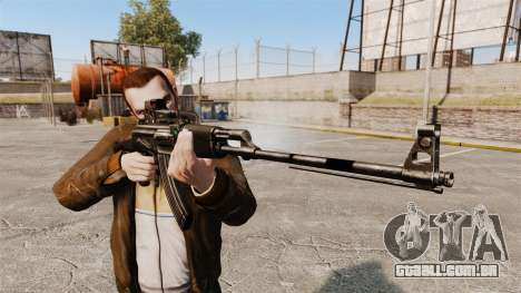 Metralhadora leve de Kalashnikov para GTA 4 terceira tela
