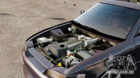 Toyota Mark II 1990 v1 para GTA 4 vista de volta
