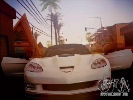 Chevrolet Corvette ZR1 2010 para GTA San Andreas